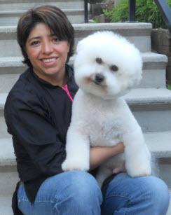 Dog Groomer Burnady BC Carmen Ballard